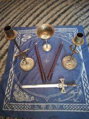 kleines Set für magische Rituale