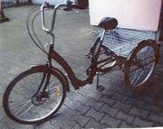 Dreirad für Erwachsene 6 Gang