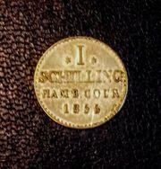 Silbermünze Hamburg Antik