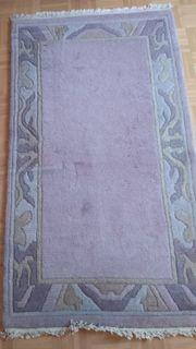 Wollteppich ca 90x160 cm