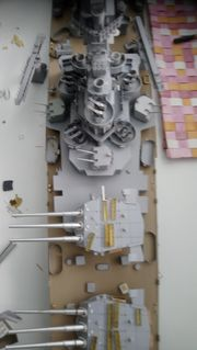 Modell uss Alaska CB-1 1