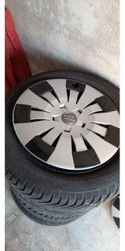 4x Original Audi Radblenden 16