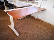 TABLE T Steh-Sitz-Schreibtisch elektr hv