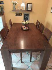 Tisch 6Stühle Tischgruppe