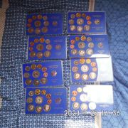 BRD 1985 1987 Kursmünzen Sätze