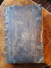 Alte antike bibel 1700 Jahrhundert