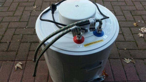 Wassebeuler 30 Liter neu wenig