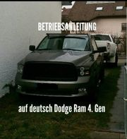 Betriebsanleitung Dodge Ram auf Deutsch
