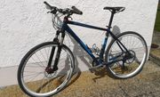 CUBE Sporttrekking Fahrrad umgebaut Größe