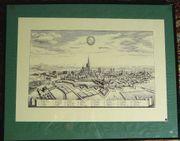 Alte Grafik von Straßburg B052