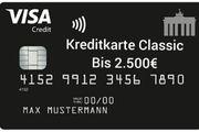 Kreditkarte Classic kostenlos beantragen Schnelle