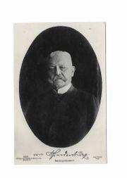 Postkarte 3 x Hindenburg 1924