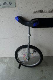 Einrad - 20 Zoll - blauer Sitz