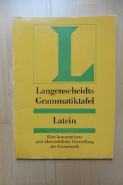 Langenscheidt Latein