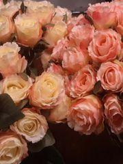 90 Rosen künstlich