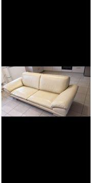 Sofa in Echtleder
