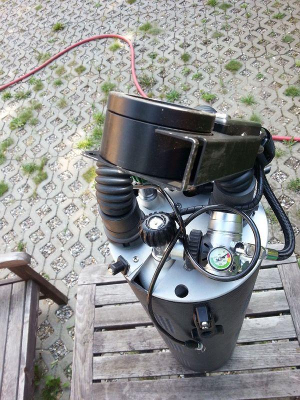 Sidemount Rebreather ECCR Submatix SMs200