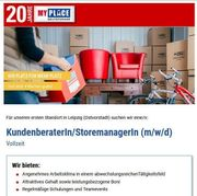 Kundenberater Storemanager m w d