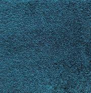 Hochwertige blaue Hochflorige Teppichfliesen von