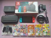 Nintendo Switch mit Extra Zubehör