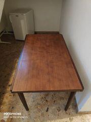 Echtholz Furnier Tisch ausziehbar
