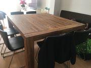 Esszimmer Tisch ohne Stühle Vollholz