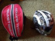 Motorradhelm mit Tasche