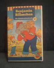 VHS Kassette Benjamin Blümchen