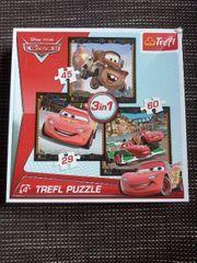 Cars 3x Puzzle Disney Pixars