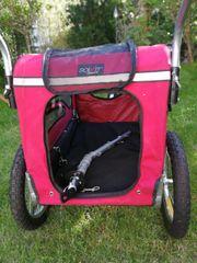 Solvit Hunde-Fahrradanhänger mit Jogger Ausrüstung