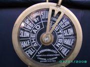Messing Maschinentelegraf