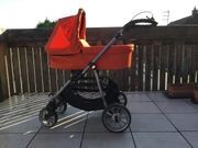 Teutonia Kombi-Kinderwagen orange