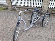 Therapie-Dreirad Senioren-Fahrrad Robusto 26 24