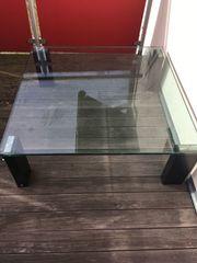 Wohnzimmertisch aus Glas