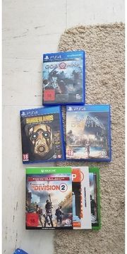 4 Games Ps4 Xbox Division