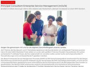 Principal Consultant Enterprise Service Management