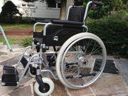Rollstuhl mit Trommelbremse NEUWERTIG