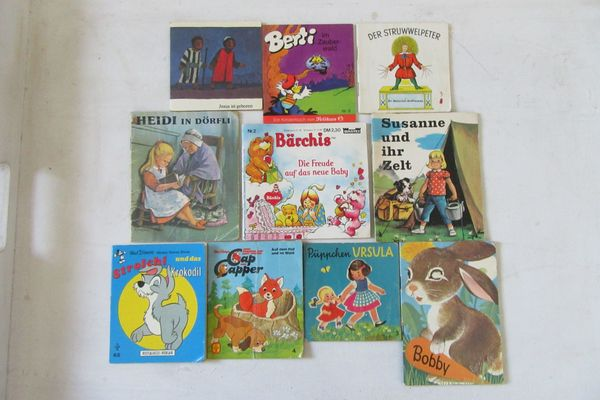 Kinderbücher im Miniformat