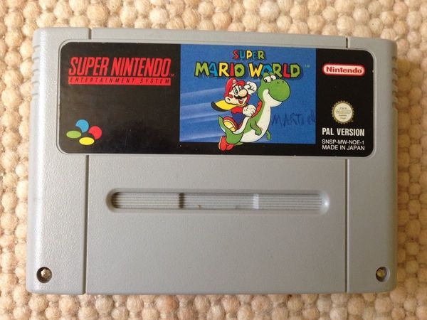 Super Nintendo - Super Mario World -