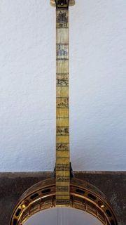 Banjo Gibson Florentine Dark Plectrum