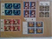 Briefmarken Deutsches Reich auf Großbriefumschlag
