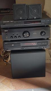 Stereoanlage mit tollen Einzelmodulen