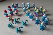Kinder Überraschungseier Figuren Schlümpfe