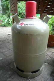 Propangasflasche Eigentumsflasche 11 Kg grau