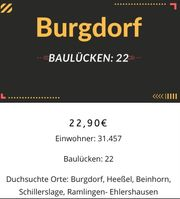 Baulücken in Burgdorf