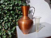 Bodenvase aus Kupfer