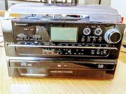 Stereoanlage mit brennfunktion für cd