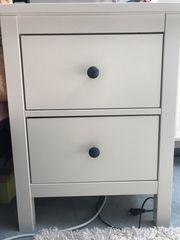 Weißer Ikea Nachttisch