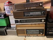 Röhrenradio antik 4 verschiedene