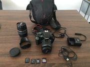 Canon EOS 1100D im Paket